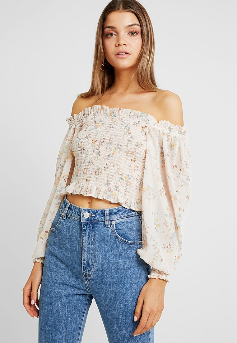 Gina Tricot - BELLE SMOCK - Blouse - soft blossom