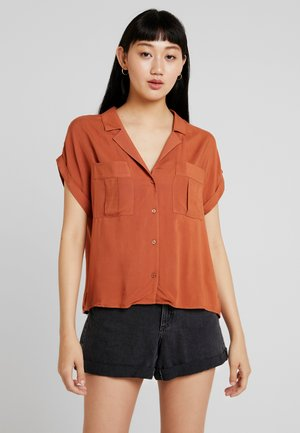 SUNNY - Button-down blouse - sierra