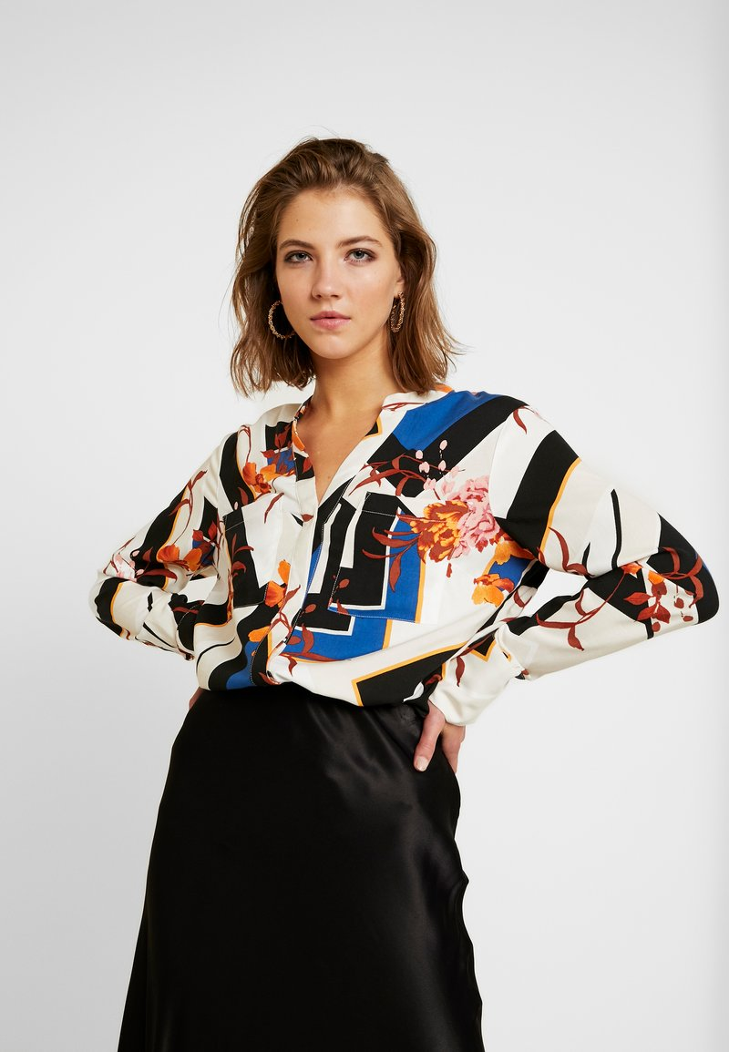 Gina Tricot - EXCLUSIVE EDA BLOUSE - Bluse - block