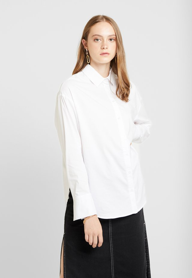 MISSY - Button-down blouse - offwhite