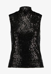 Gina Tricot - EXCLUSIVE HOLLY GLITTER - Blouse - black - 4