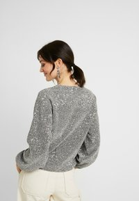 Gina Tricot - GILLY - Long sleeved top - silver - 2