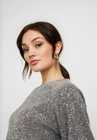 Gina Tricot - GILLY - Long sleeved top - silver - 3