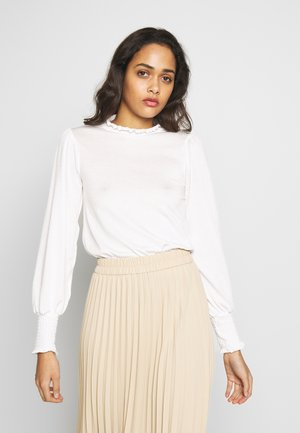 SAVANNAH - Long sleeved top - offwhite