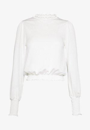 SAVANNAH - Long sleeved top - offwhite