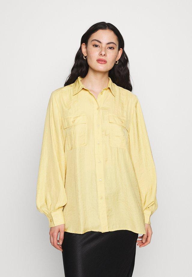 ELIN UTILITY - Skjortebluser - yellow