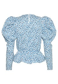 Gina Tricot - DILBA - Blouse - blue/white - 1