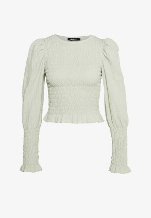 NATHALIE SMOCK - Longsleeve - light green
