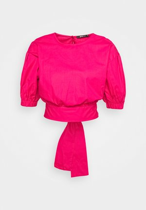 JULIA OPEN BACK BLOUSE - Pusero - pink