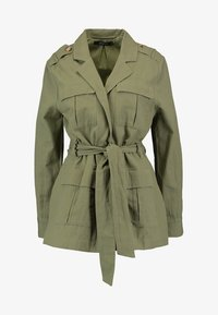 Gina Tricot - KAIA ARMY JACKET - Krátký kabát - deep lichen - 4