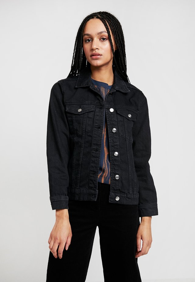 SOLANGE JACKET - Denim jacket - offblack