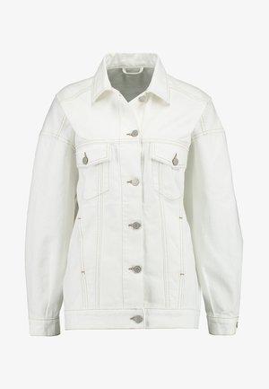 CONTRAST JACKET - Jeansjakke - offwhite/beige