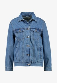 Gina Tricot - THE JACKET - Denim jacket - mid blue - 4