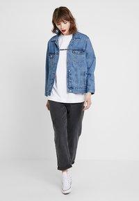 Gina Tricot - THE JACKET - Denim jacket - mid blue - 1