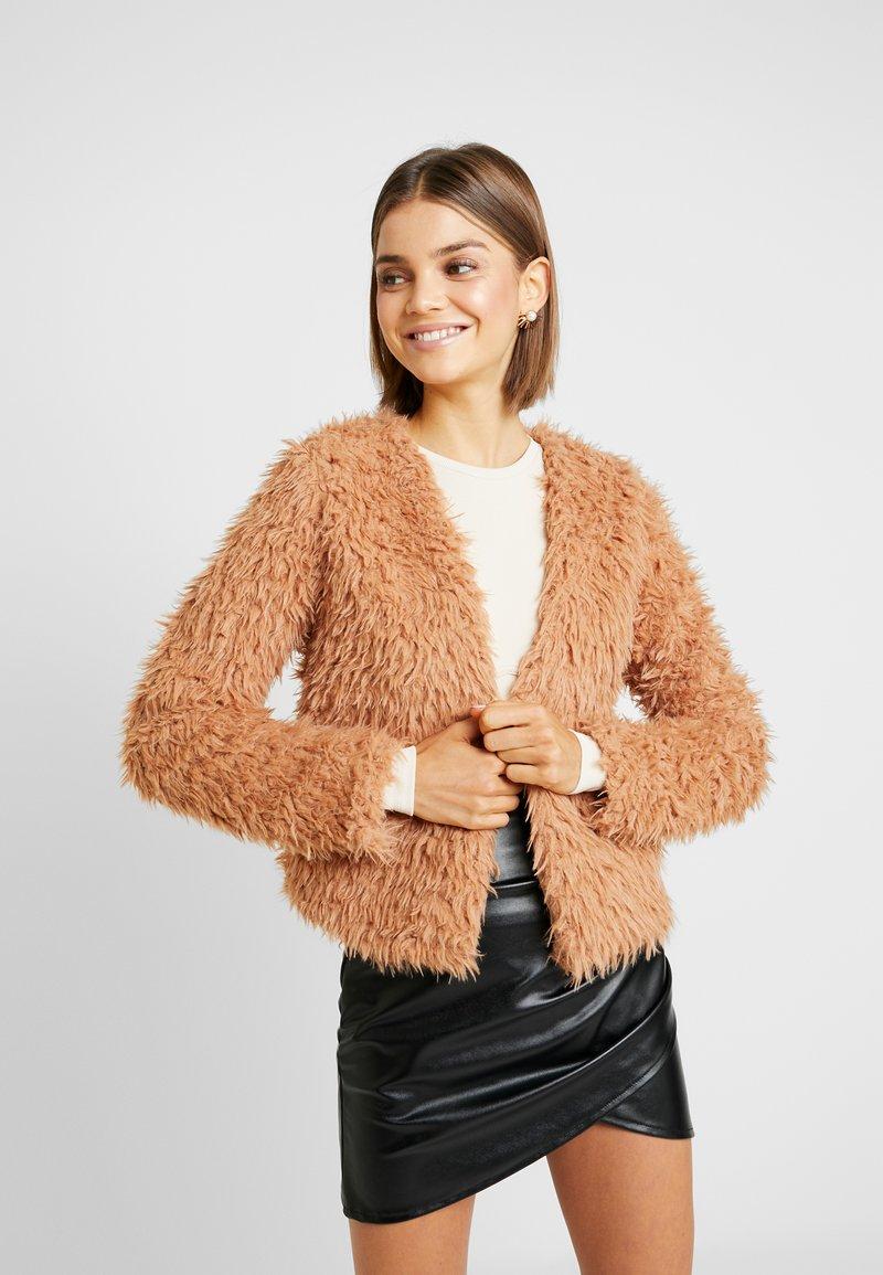 Gina Tricot - WANDA JACKET - Winterjas - soft camel