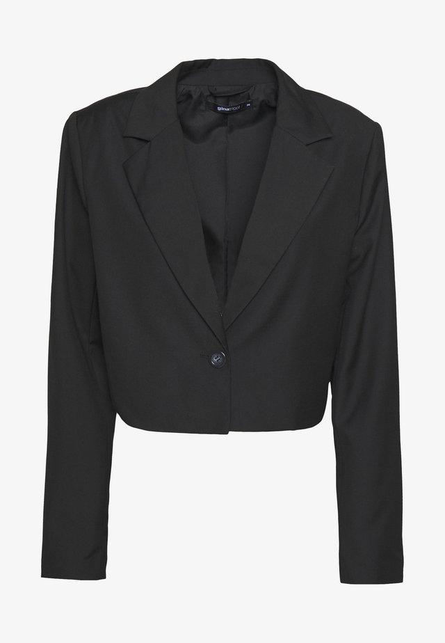 KYLIE CROPPED - Blazer - black