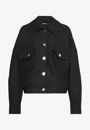 EMMA TRUCKER JACKET - Lett jakke - black