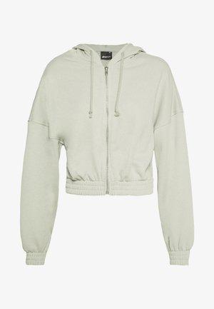 ABIGAIL ZIP JACKET - veste en sweat zippée - desert sage