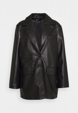 HENNY - Giacca in similpelle - black