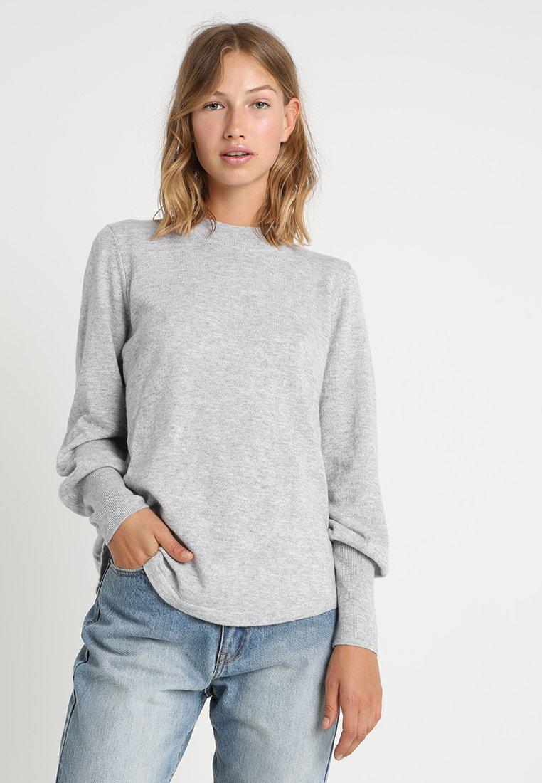 Gina Tricot - MIMMI - Jumper - light grey melange