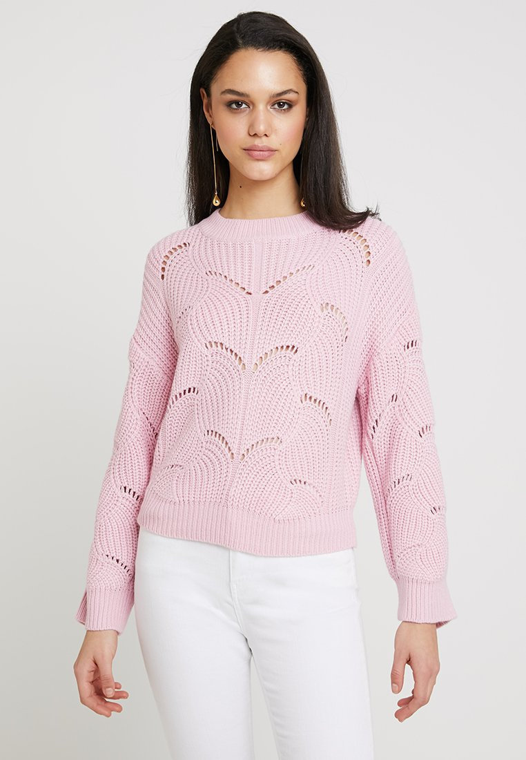 Gina Tricot - FANNY SWEATER - Strickpullover - prime pink