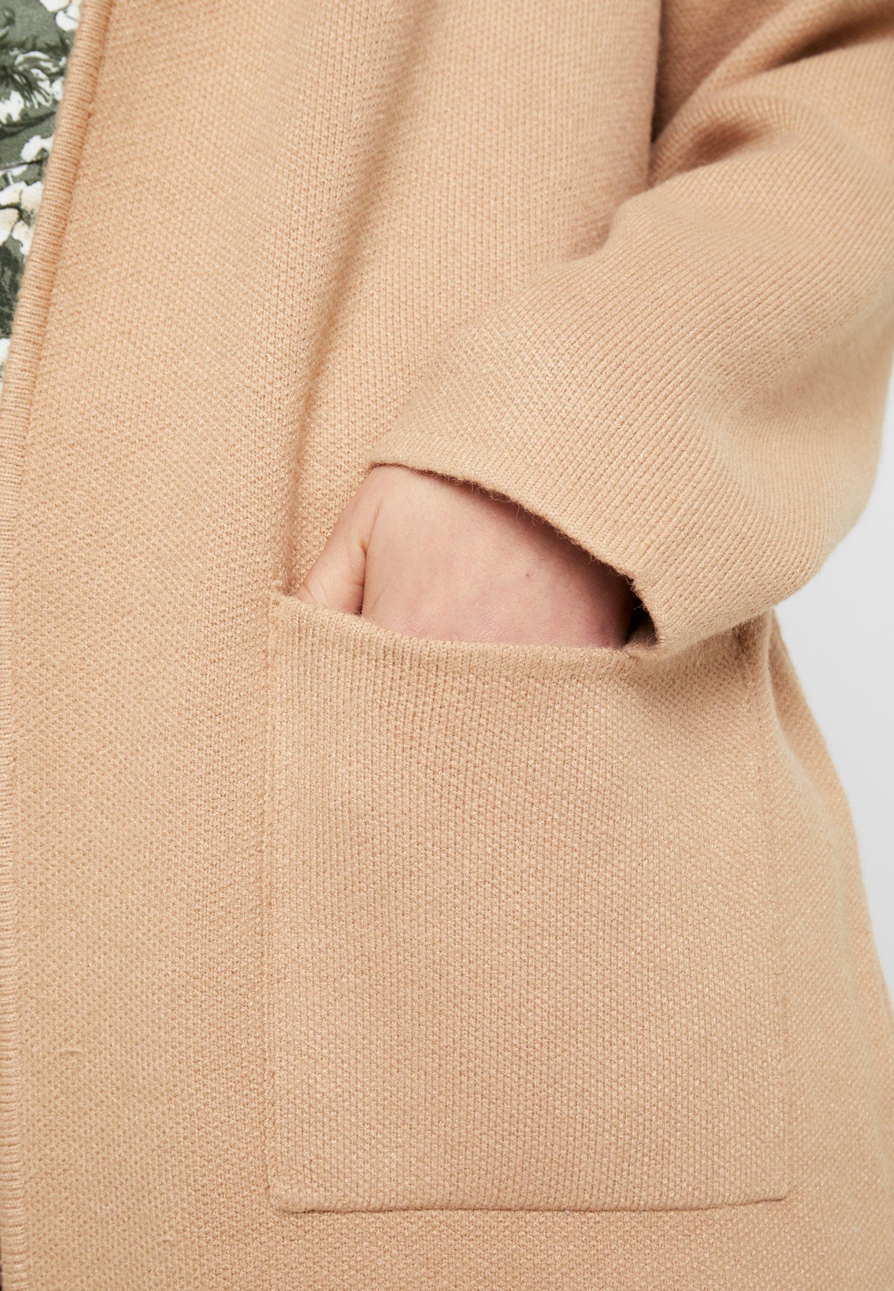 Gina Tricot HILMA COAT - Kardigan - soft camel