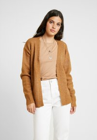 Gina Tricot - EXCLSUIVE ELLIE CARDIGAN - Cardigan - toasted coconut - 0