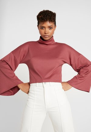 ARIA TURTLENECK - Long sleeved top - wine