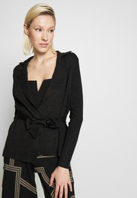 Gina Tricot - STINA - Strickjacke - black - 4