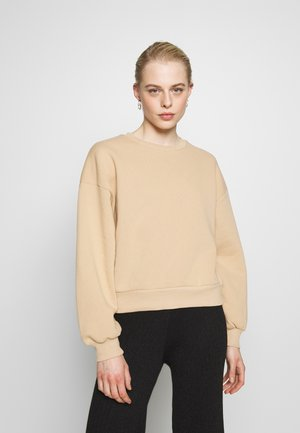 BASIC SWEATER - Sweatshirt - new camel