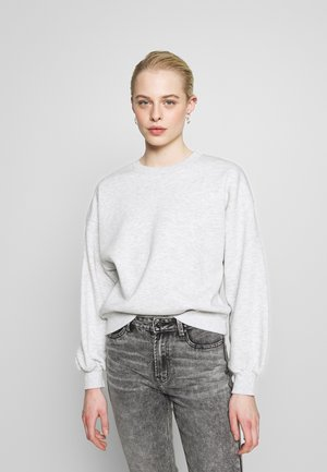 BASIC SWEATER - Collegepaita - light grey melange