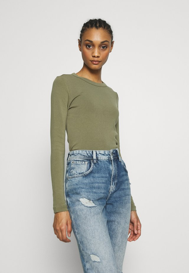 BLAIR - Long sleeved top - khaki green
