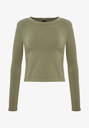BLAIR - Topper langermet - khaki green