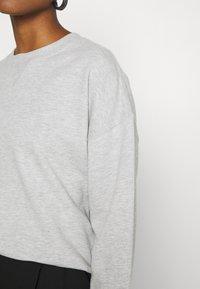 Gina Tricot - MY BASIC - Sweatshirts - light grey melange - 5