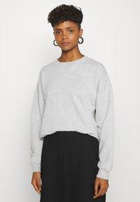 Gina Tricot - MY BASIC - Sweatshirts - light grey melange - 0