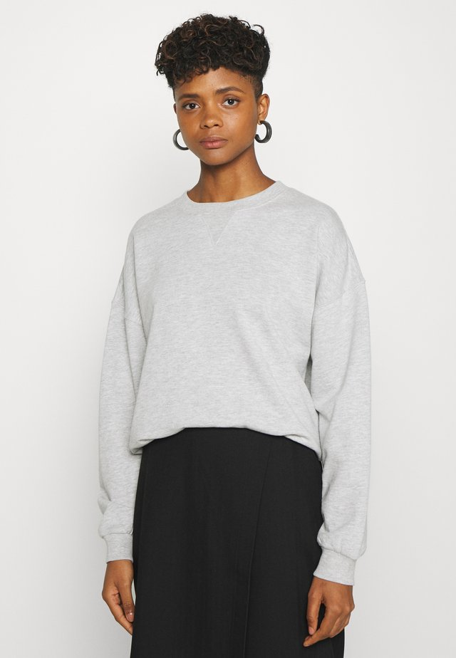 MY BASIC - Sweatshirt - light grey melange