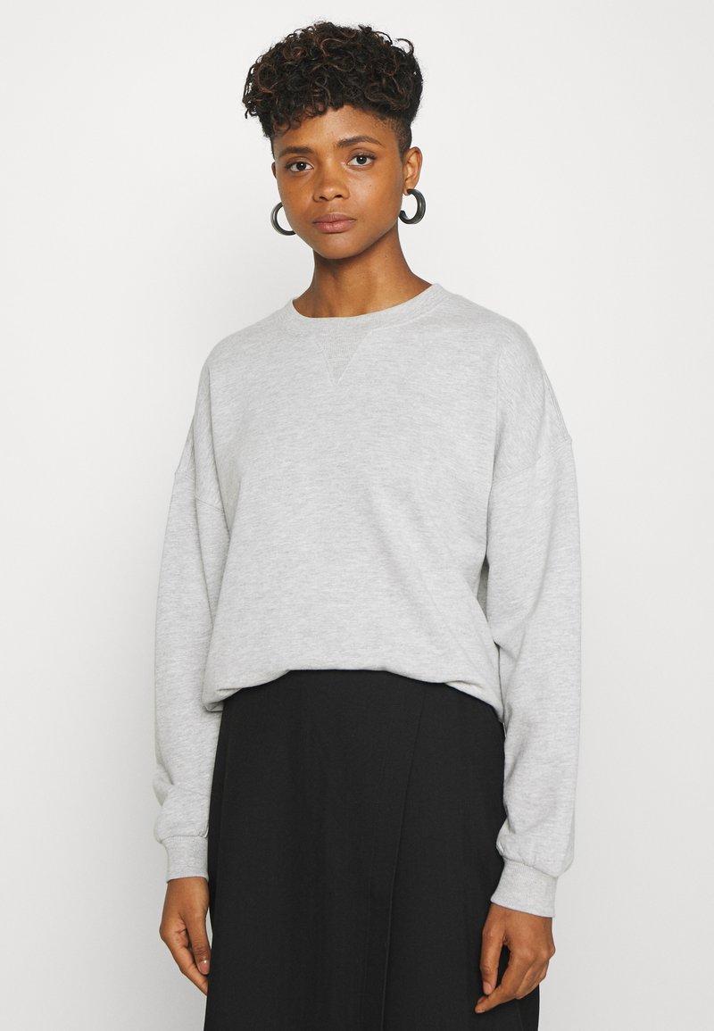 Gina Tricot - MY BASIC - Sweatshirts - light grey melange