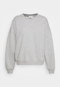 Gina Tricot - MY BASIC - Sweatshirts - light grey melange - 4