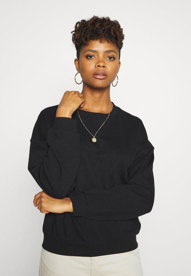 MY BASIC - Sweatshirt - black