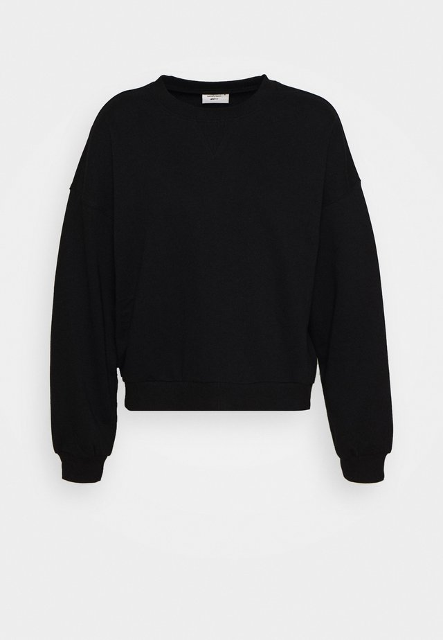 MY BASIC - Sweatshirts - black