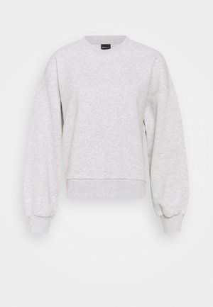 BASIC SWEATER - Sweater - light grey melange