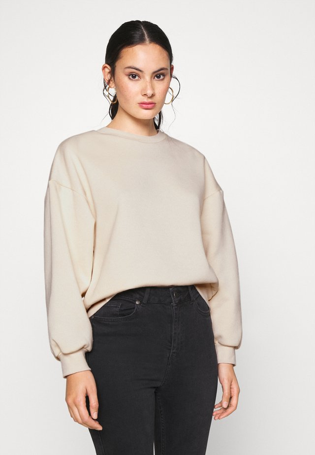 BASIC SWEATER - Sweatshirt - whisper pink