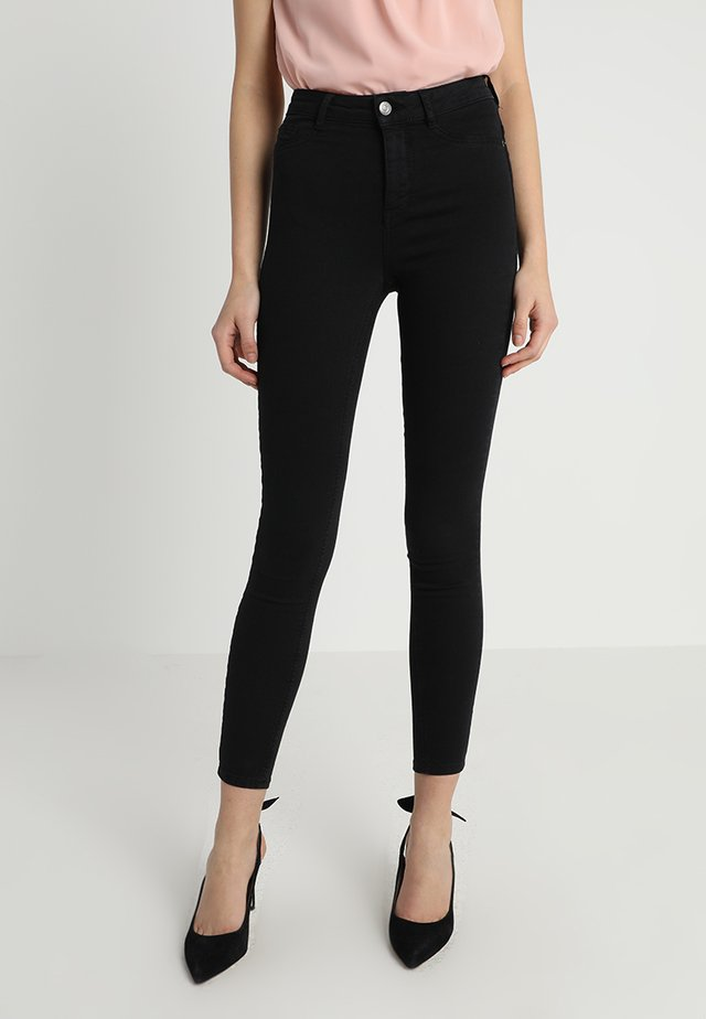 MOLLY HIGHWAIST  - Skinny džíny - black