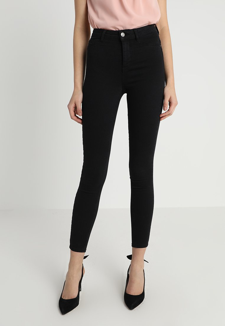 Gina Tricot - MOLLY HIGHWAIST  - Jeans Skinny Fit - black