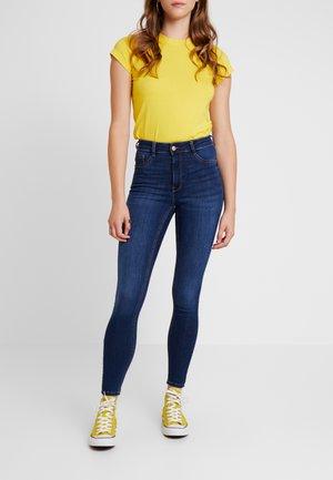 MOLLY HIGHWAIST - Jeans Skinny - dark blue