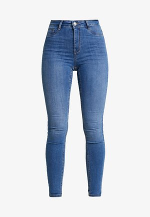 MOLLY HIGHWAIST - Vaqueros pitillo - midblue