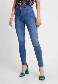 Gina Tricot - MOLLY HIGHWAIST - Jeans Skinny Fit - midblue - 0