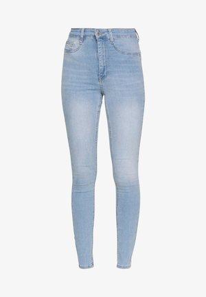 MOLLY HIGHWAIST - Jeans Skinny Fit - light blue