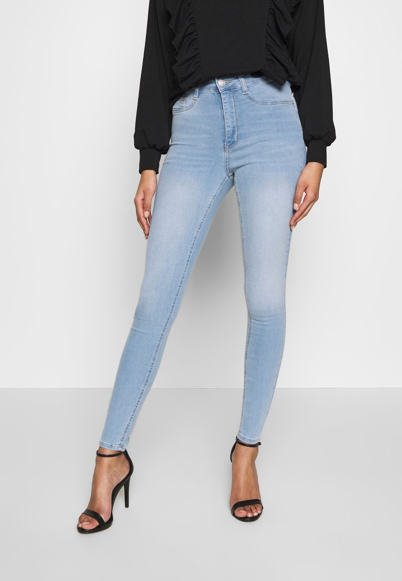 Gina Tricot - MOLLY HIGHWAIST - Jeans Skinny Fit - light blue