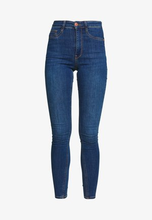 MOLLY HIGHWAIST - Jeansy Skinny Fit - dark blue